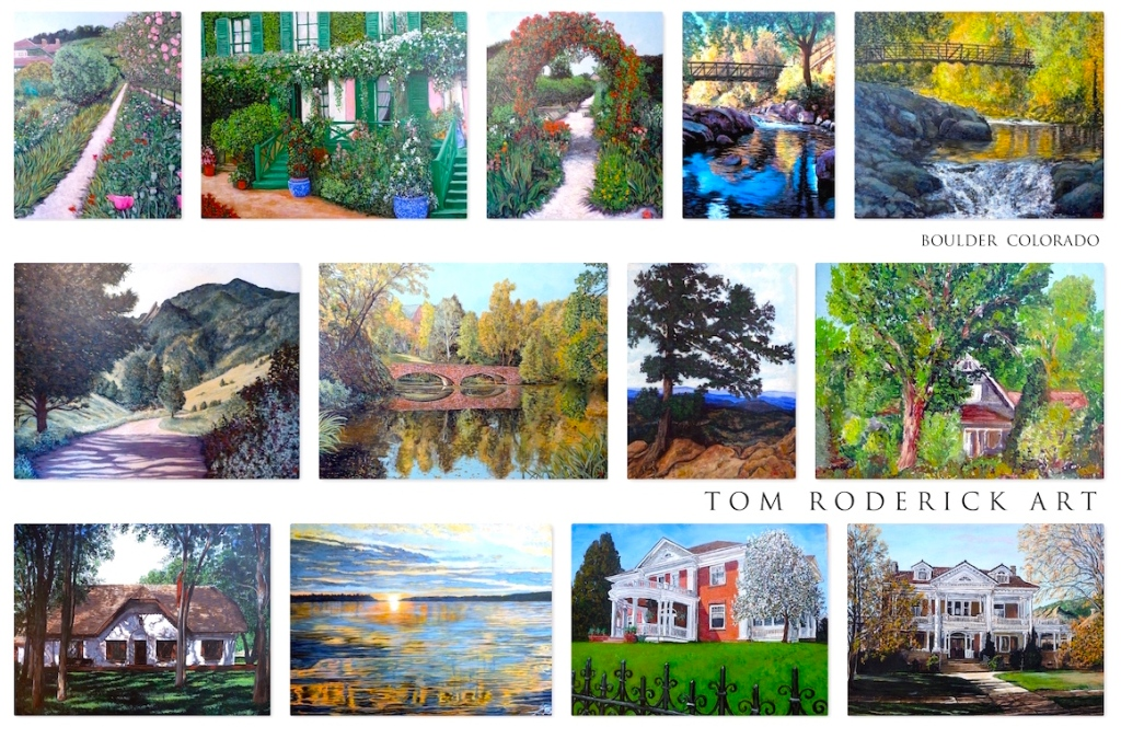 Landscape paintings Tom Roderick Art