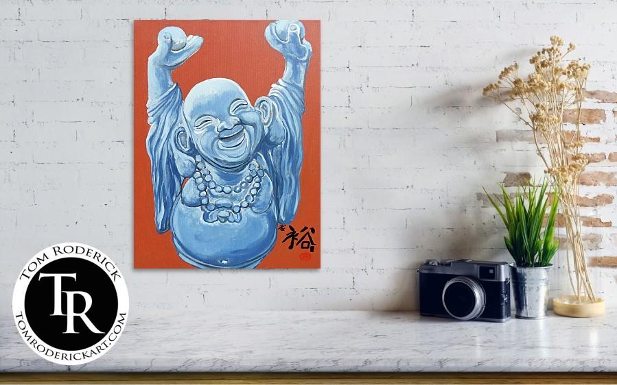 Abundance buddha by Boulder artist Tom Roderick.