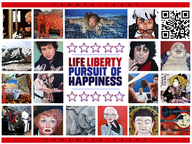 Life liberty and the pursuit of happiness.