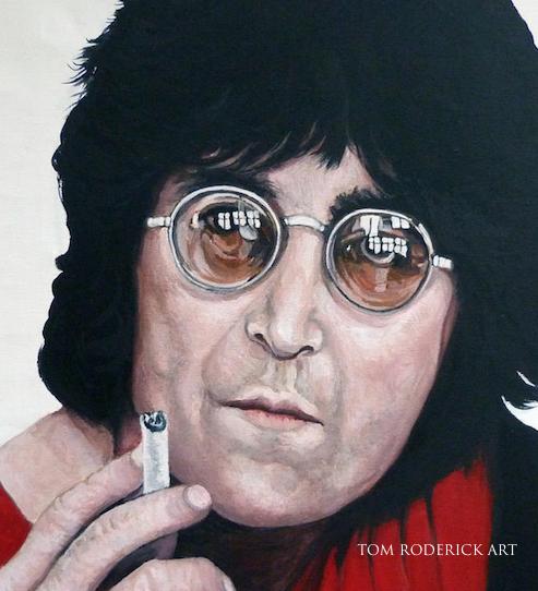 Portrait of John by Boulder portrait artist Tom Roderick