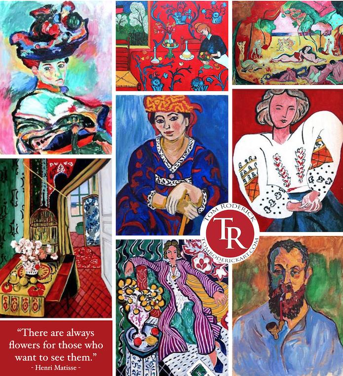 Matisse interpretations by Boulder artist Tom Roderick.