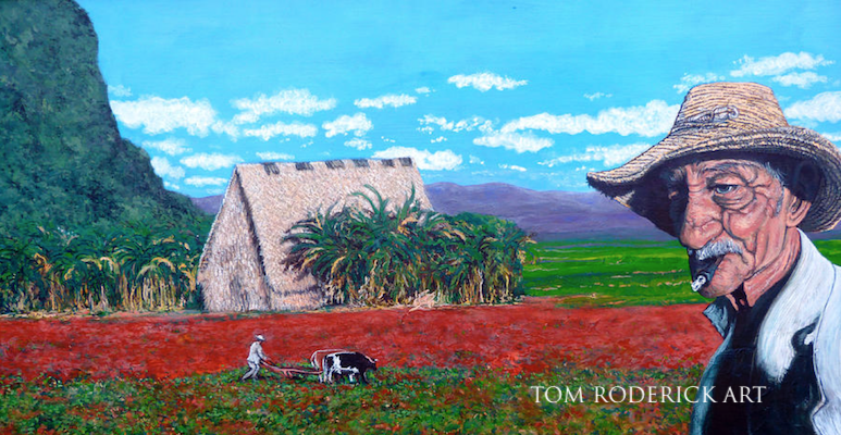 Salt of the earth portrait by Boulder artist Tom Roderick.